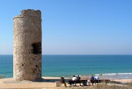 Bici (Cádiz): Roche-Torre del Puerco