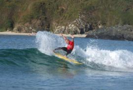 Surfing (La Coruña): World Series beach on the doorstep