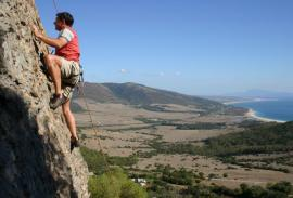 Climbing (Cádiz): Your own guide and amazing views over the Straits