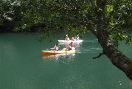 Kayak (La Coruna): El Rio Sor y Estaca de Bares